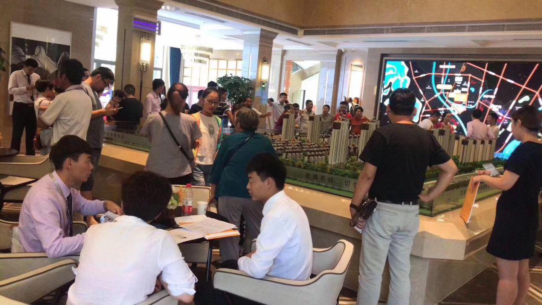 鸿坤地产项目滁州鸿坤理想城十一期间项目售楼处