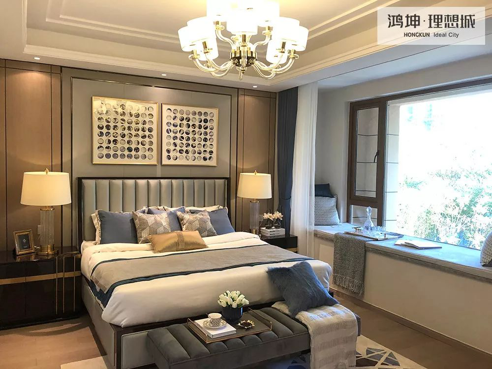鸿坤地产项目滁州鸿坤理想城项目实景图